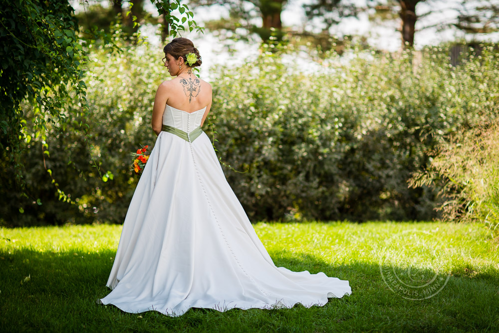 Minnesota Landscape Arboretum Wedding Photo