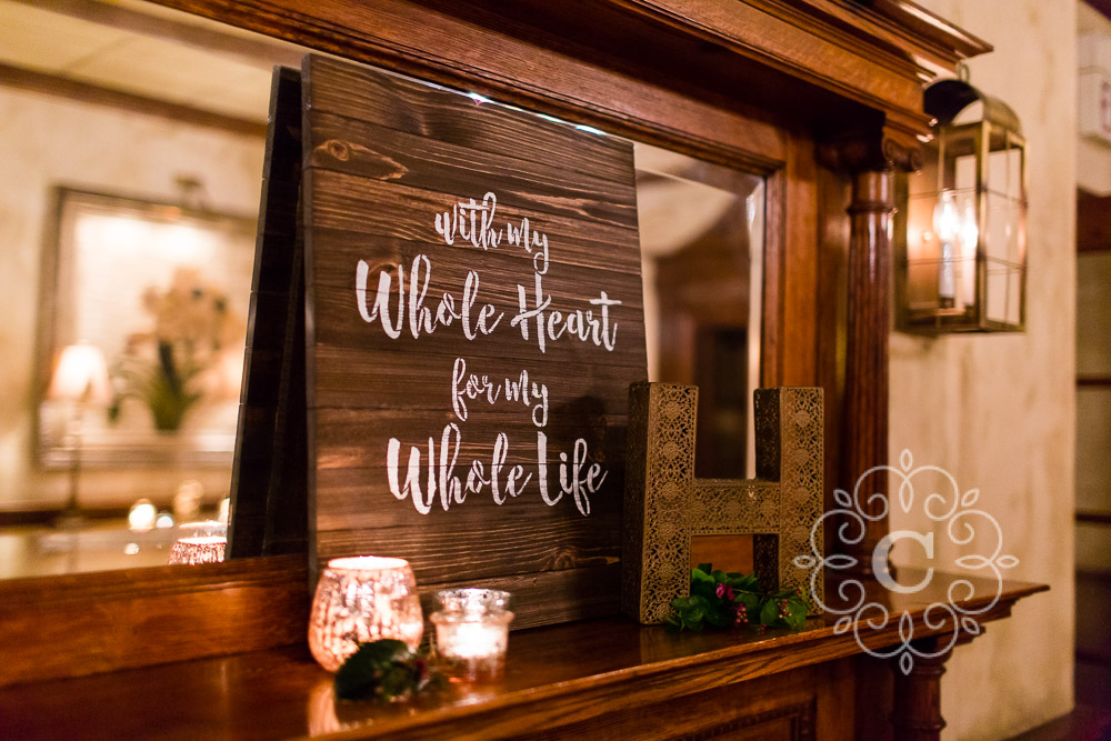 Nicollet Island Inn Minneapolis Wedding Photo
