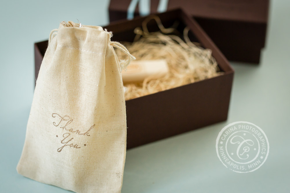 Carina Photographics Photography Packaging Thank You Gift