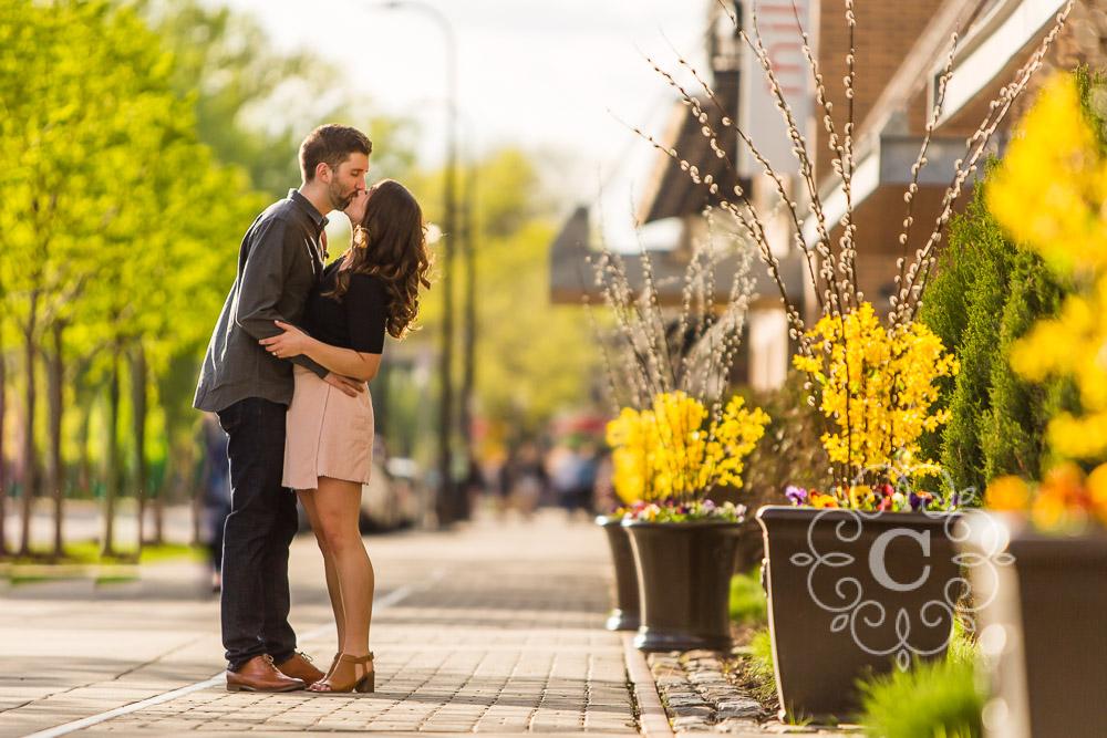 Saint Anthony Main Minneapolis Engagement Photo