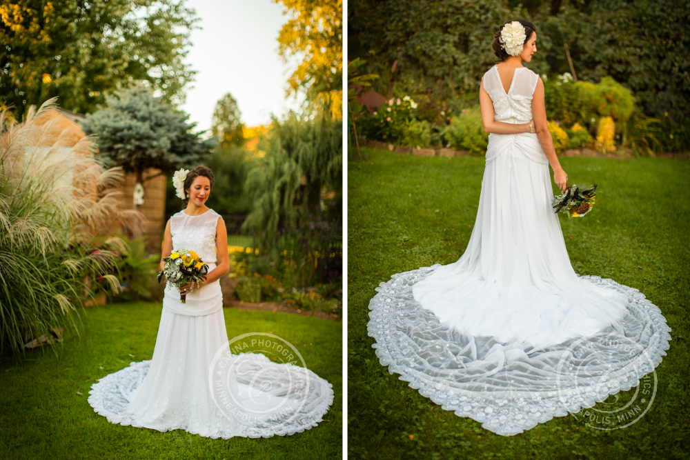 St Paul Garden Wedding Bride Dress