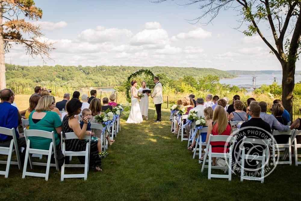 Stillwater MN Pioneer Park Wedding Photo