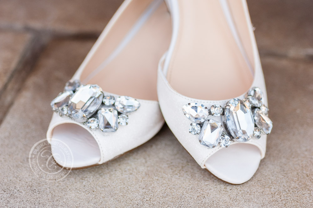 TPC Twin Cities Blaine Wedding Shoes Photo