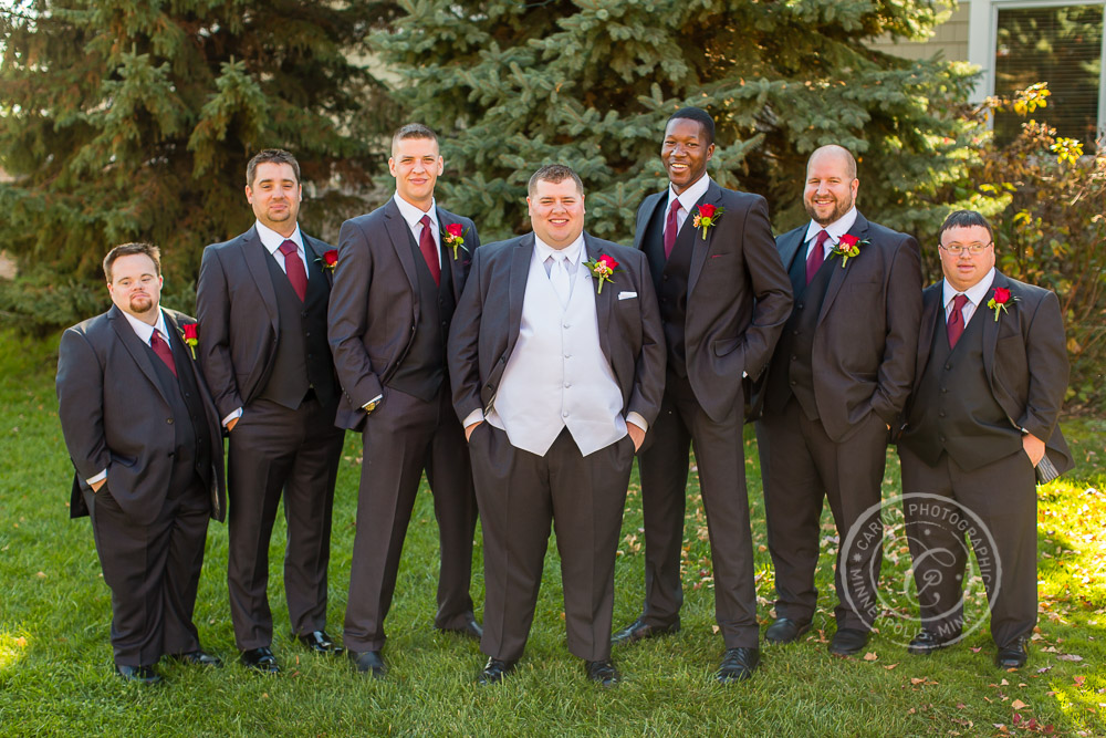 TPC Twin Cities Blaine Wedding Groom Photo