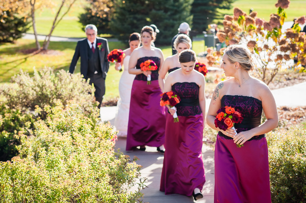 TPC Twin Cities Blaine Wedding Bridesmaids Photo