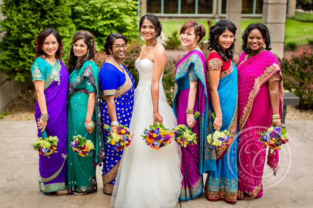 Mendakota Country Club Wedding Photo